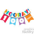 100 days of school banner vector art