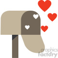 love letters mailbox icon
