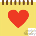 love notes vector icon