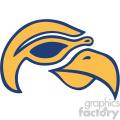 aviator bird vector icon