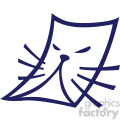 cat face page vector icon