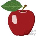 apple flat icon clip art