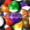 tiled pool ball background