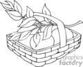Spel212_bw vector clip art image