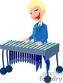 music cartoon instruments musician musicians xylophone   music002-9-2004 clip art music  gif, jpg