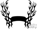 flames fire border frame badge tattoo graphic vinyl cutter symmetrical silhouette banner gif, jpg, eps