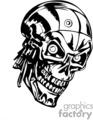 side metal skull