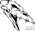 skull bone head skeleton tattoo art vinyl gif, jpg, eps