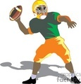 football sport sports player players quarterback quarterbacker gif, png, jpg, eps