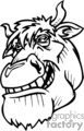 cartoon bull gif, png, jpg, eps