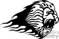 animal animals flame flames flaming fire vinyl-ready vinyl ready hot blazing blazin vector eps gif jpg png cutter signage black white lion lions