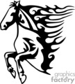 0005b flamboyant animals vector clip art image
