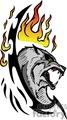 predator predators animal animals wild vector signage vinyl-ready vinyl ready cutter color dog dogs wolf wolfs fire fires flaming flames flame tattoo tattoos design designs gif, png, jpg, eps
