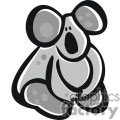 Cartoon Kuala Bear