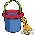 Toy bucket and shovel