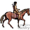 indian indians native americans western navajo horse horses vector eps jpg png clipart people gif gif, png, jpg, eps