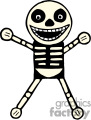 Funny skeleton