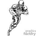 Running back going for yards
