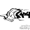 charging bull 4x4 graphic gif, png, jpg, eps