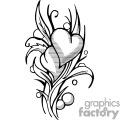 Hearts of soul mates