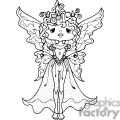 fairy standing  gif, png, jpg, eps, svg, pdf