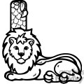 Letter L Lion
