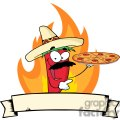 2896-sombrero-chile-pepper-holds-up-pizza-banner  gif, png, jpg, eps, svg, pdf