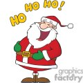 laughing Santa Claus Ho Ho Ho