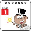 African-American-New-Year-Baby-Cartoon-Callendar