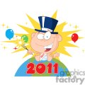 3829-New-Year-Baby-With-Fireworks-And-Balloons-Above-The-Globe