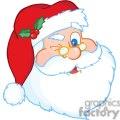 3850-Santa-Claus-Winking