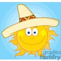 4059-smiling-sun-with-sombrero-hat  gif, png, jpg, eps, svg, pdf