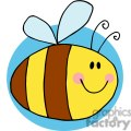 4118-Fflying-Bee-Cartoon-Character