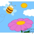 bee looking for honey gif, png, jpg, eps, svg, pdf