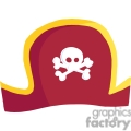 red pirate hat gif, png, jpg, eps, svg, pdf
