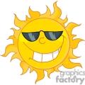 sun wearing sun glasses