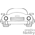 4320-Cartoon-Convertible-Car