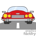 4322-Cartoon-Convertible-Car