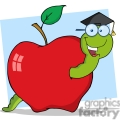 4269-Happy-Graduate-Worm-In-Apple