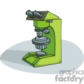 cartoon microscope