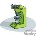 Cartoon microscope