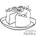 cake outline