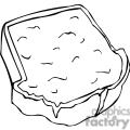 sandwich outline
