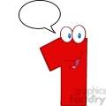 4968-clipart-illustration-of-number-one-cartoon-mascot-character-with-speech-bubble  gif, png, jpg, eps, svg, pdf