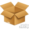 clipart opened box