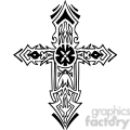 cross clip art tattoo illustrations 004