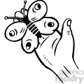hand butterfly 070  gif, png, jpg, eps, svg, pdf
