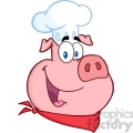 5388-Happy-Pig-Chef-Head