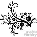 chinese swirl floral design 059  gif, png, jpg, eps, svg, pdf