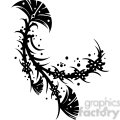 chinese swirl floral design 028  gif, png, jpg, eps, svg, pdf